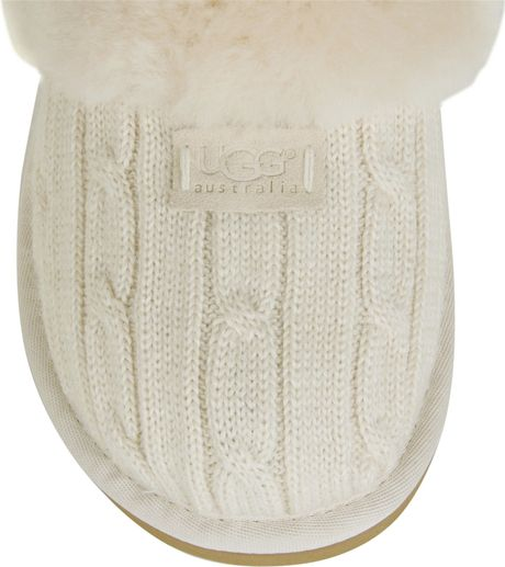 Ugg Cable Knit Slippers | NATIONAL SHERIFFS' ASSOCIATION