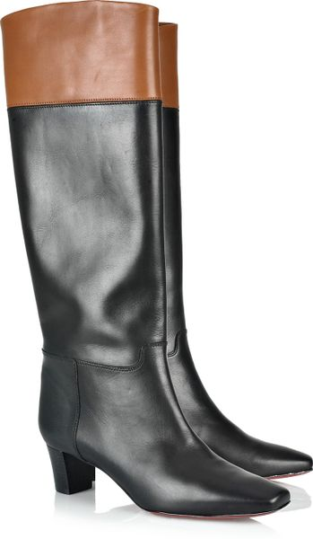christian louboutin cavaliere 45 knee high leather boots