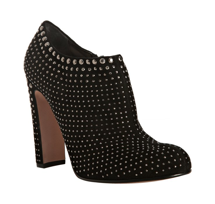 Prada Studded Suede Ankle Boots in China cheap online s8HgaDDtGq