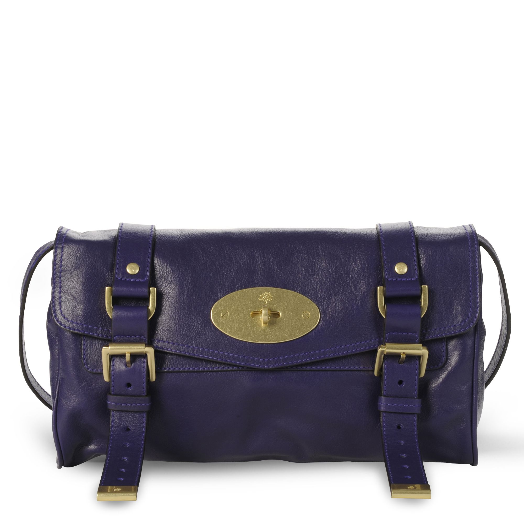 ... low price mulberry alexa clutch bag in purple lyst cac39 d23be f1e738d126cea