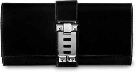 Hermes Medor Clutch in Black