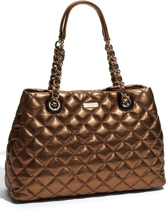 Kate Spade Gold Coast - Maryanne Quilted Leather Shopper - Lyst