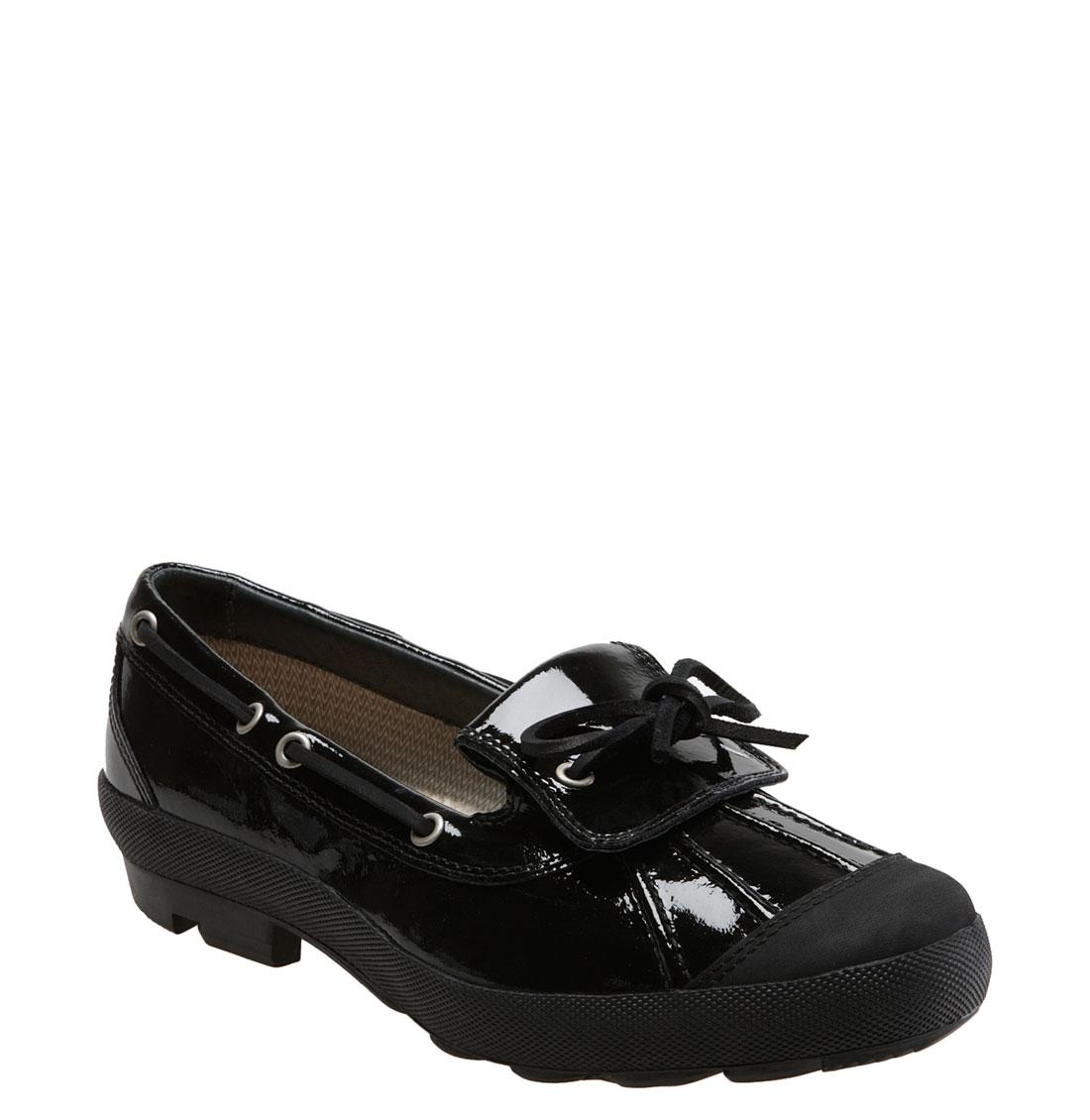 ugg australia ashdale duck shoe in black lyst