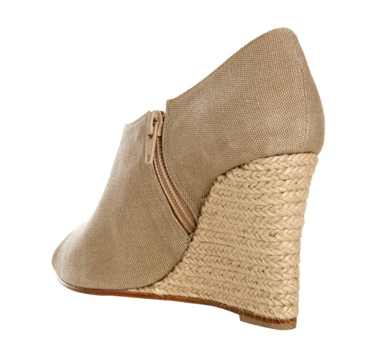 Christian louboutin Natural Canvas Corazon 85 Ankle Boot Jute ...