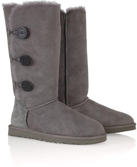 tall ugg boots grey
