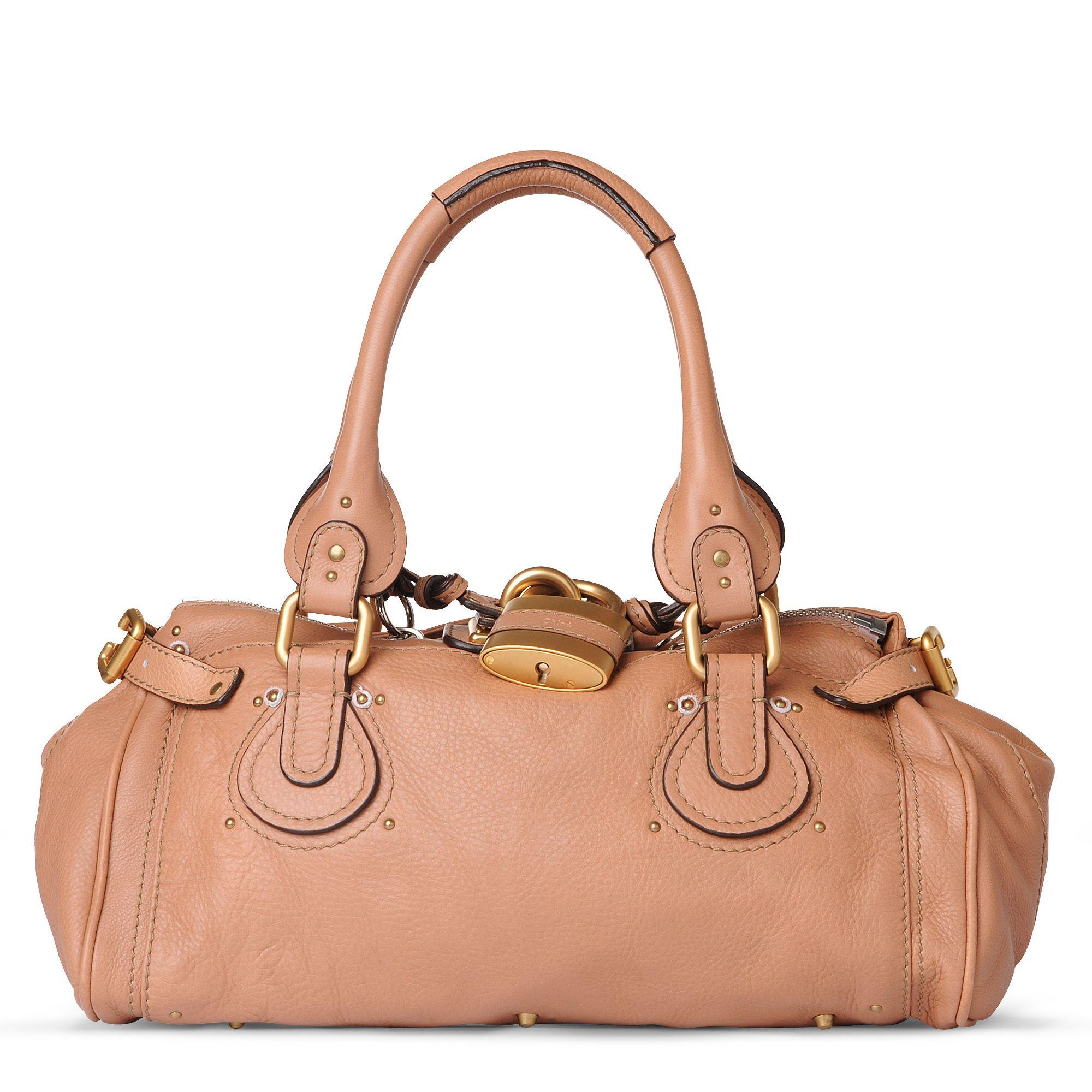 Chlo¨¦ Paddington Classic Shoulder Bag in Pink (nutmeg)   Lyst