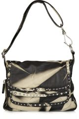Donna Karan New York Stud-embellished Leather Bag - Lyst