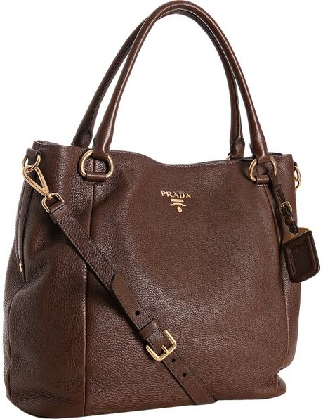 f1ccee4e6ebf06 Prada Leather Tote With Strap | Stanford Center for Opportunity ...