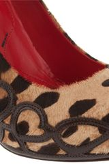 Cesare Paciotti Pony Skin Shoes in Animal (leopard) - Lyst