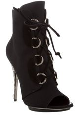 Giuseppe Zanotti Canvas Lace-up Ankle Boots - Lyst