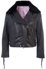 Acne Rita Aviator Jacket - Lyst