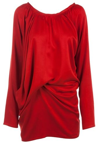 Ann Demeulemeester Scoop Neck Tunic - Lyst