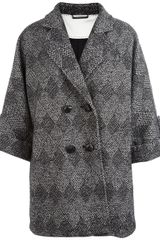 Diane Von Furstenberg Bubby Patch Coat - Lyst