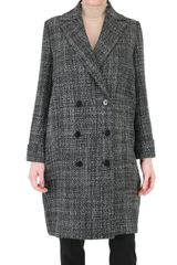 Metradamo Structured Wool Coat - Lyst