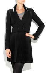 Proenza Schouler Cropped Woolblend Jacket in Black - Lyst