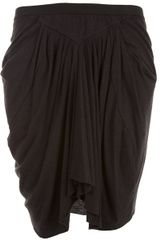 Rick Owens Lilies Pleated Mini Skirt - Lyst