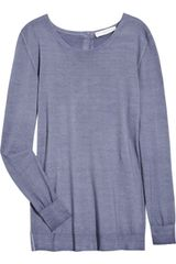 Stella McCartney Buttoned-back Wool Sweater