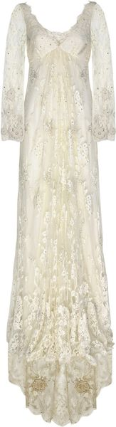 Temperley London Embroidered Lace Gown - Lyst