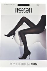 Wolford Twin Pack Of Velvet Deluxe 66 Tights in Black - Lyst