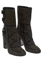 Laurence Dacade Merli Studded Boot with Buckles