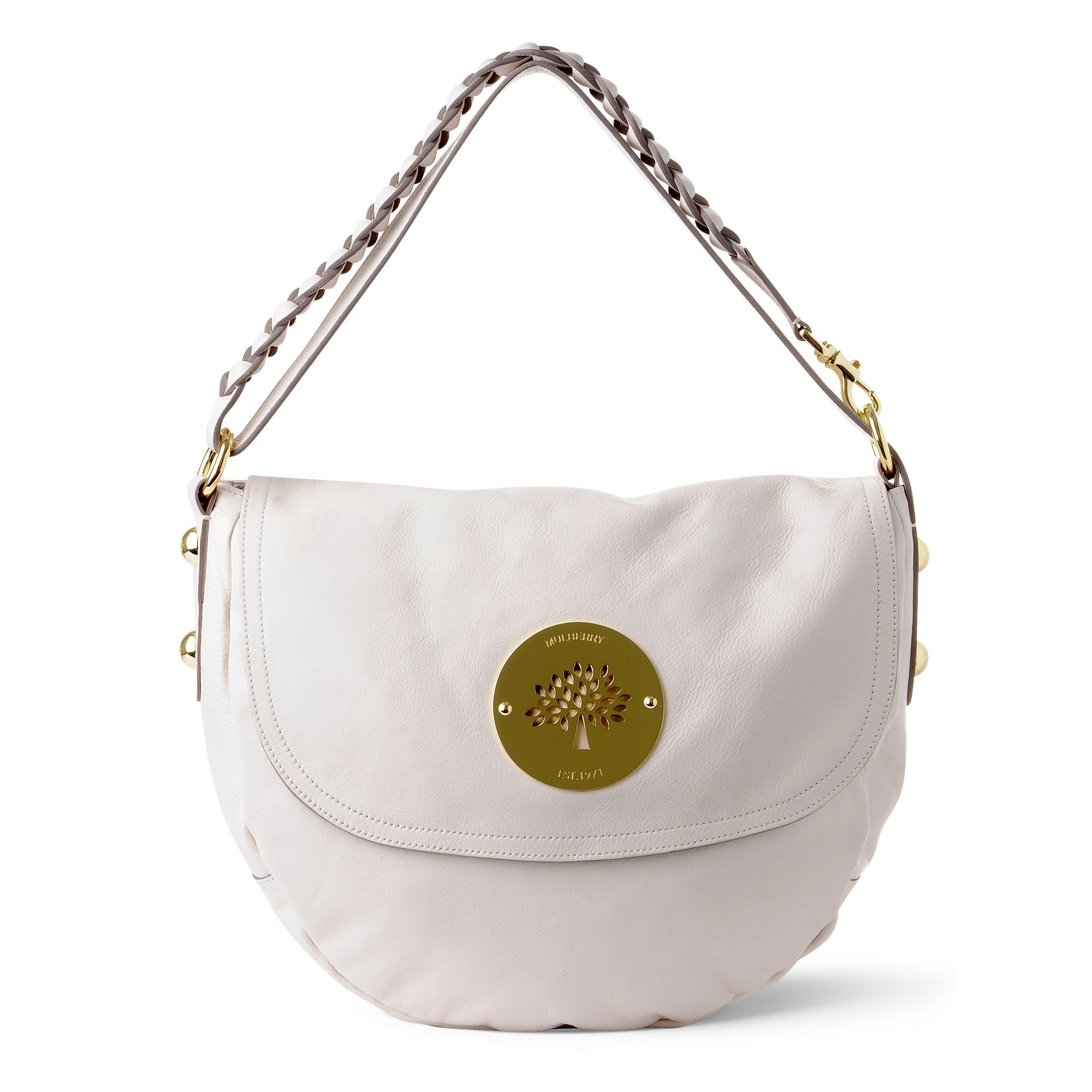 5f44906cf934 real mulberry daria medium hobo bag 0bd12 8d6b9  reduced mulberry daria  satchel in white lyst 16068 3d590