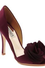 Badgley Mischka Randall Pump - Lyst