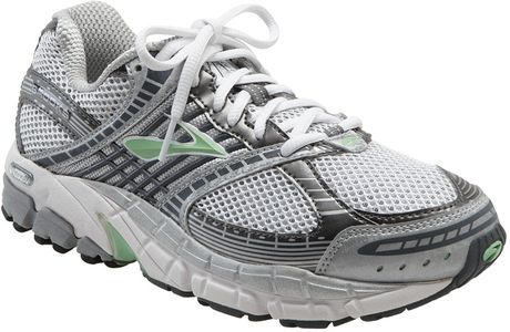 ariel running shoe in gray green ash