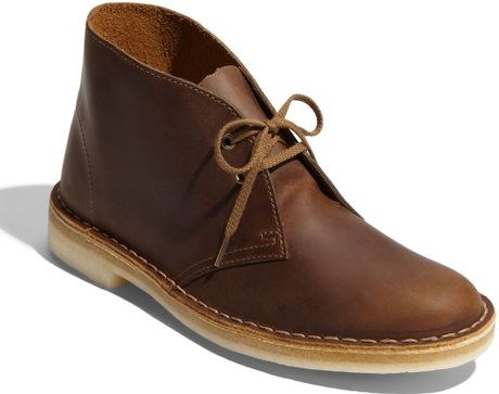 Creative CLARKS Desert Boot Leather  Beeswax  From KITH  Shoes And