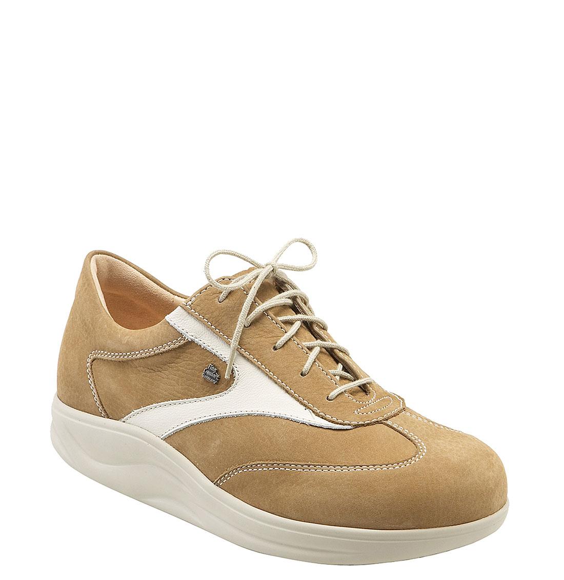 finn comfort finnamic by recife walking shoe in beige