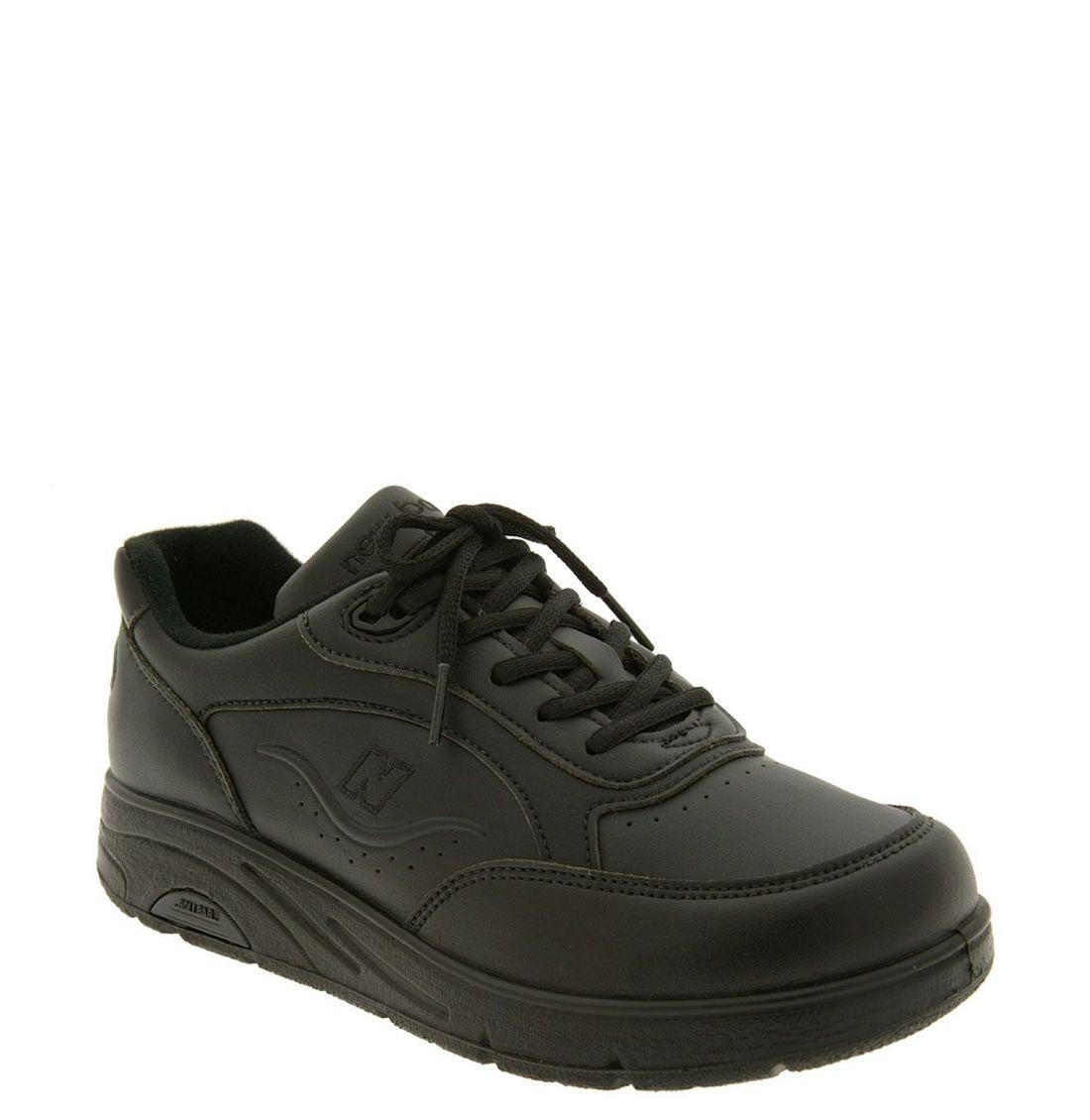 new balance ww811 walking shoe in black lyst
