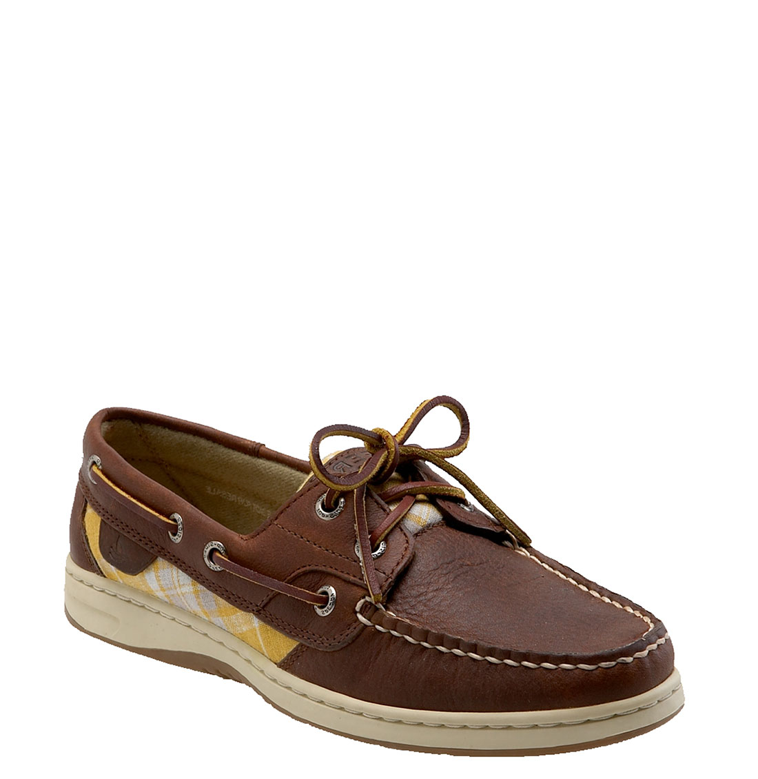 sperry top sider bluefish 2 eye boat shoe in brown