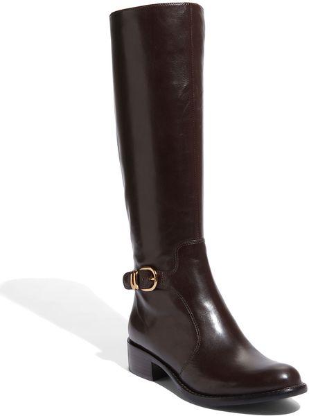 via spiga cristie boot in black brown lyst