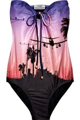 We Are Handsome The Los Angeles Bandeau Swimsuit