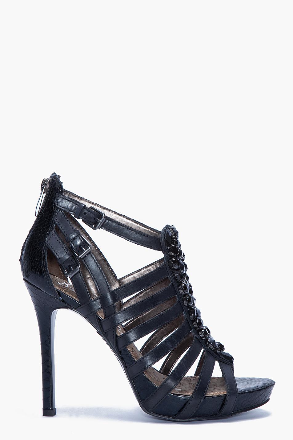 Sam Edelman Quintessa Heels In Black Lyst