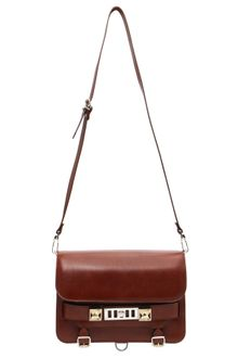 Proenza Schouler Classic Leather Ps11 Bag - Brown - Lyst