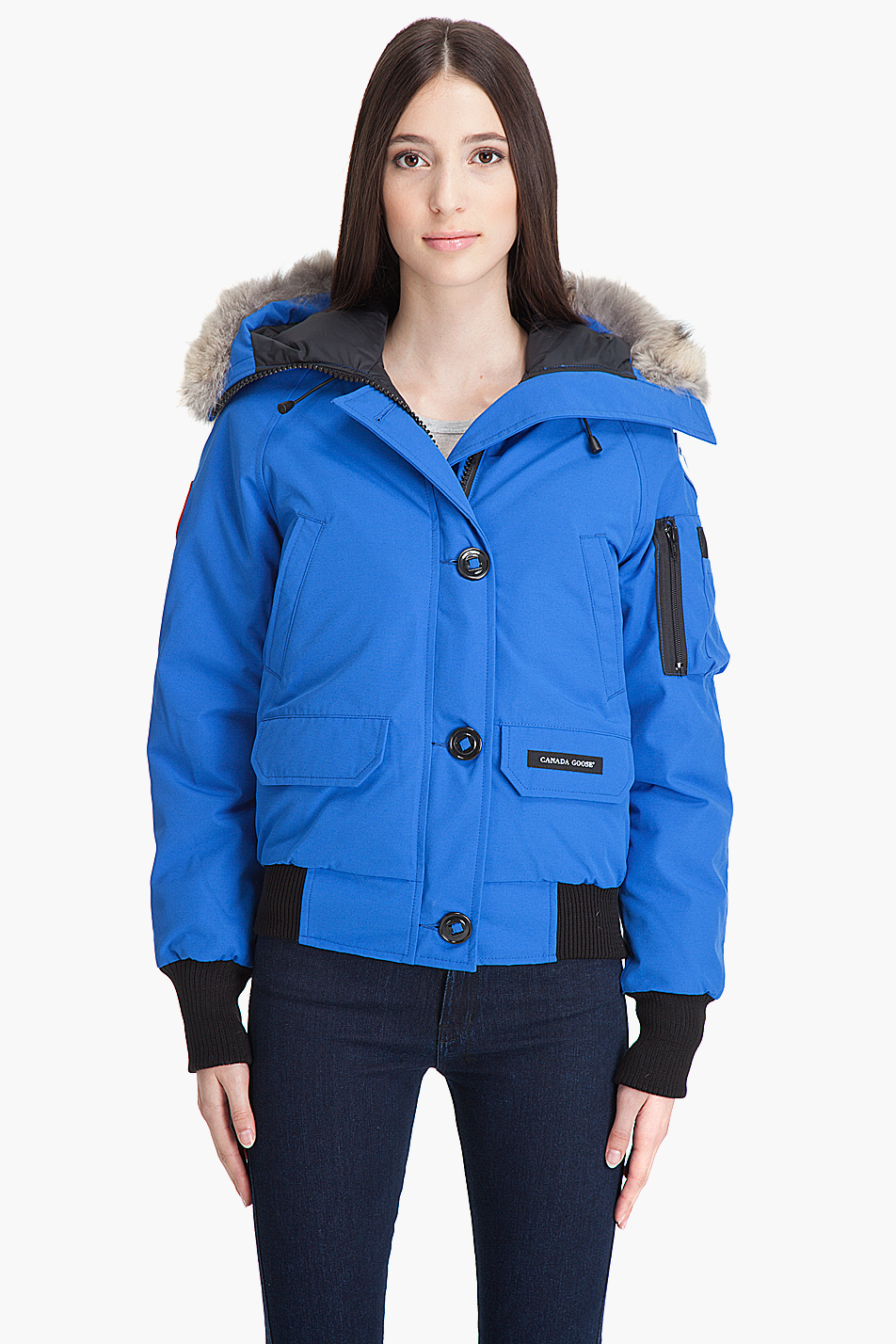 Canada Goose Pbi Chilliwack Jacket In Blue Lyst