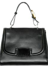 Fendi Calfskin Silvana Top Handle - Lyst