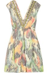 Matthew Williamson Printed Jacquard Dress - Lyst
