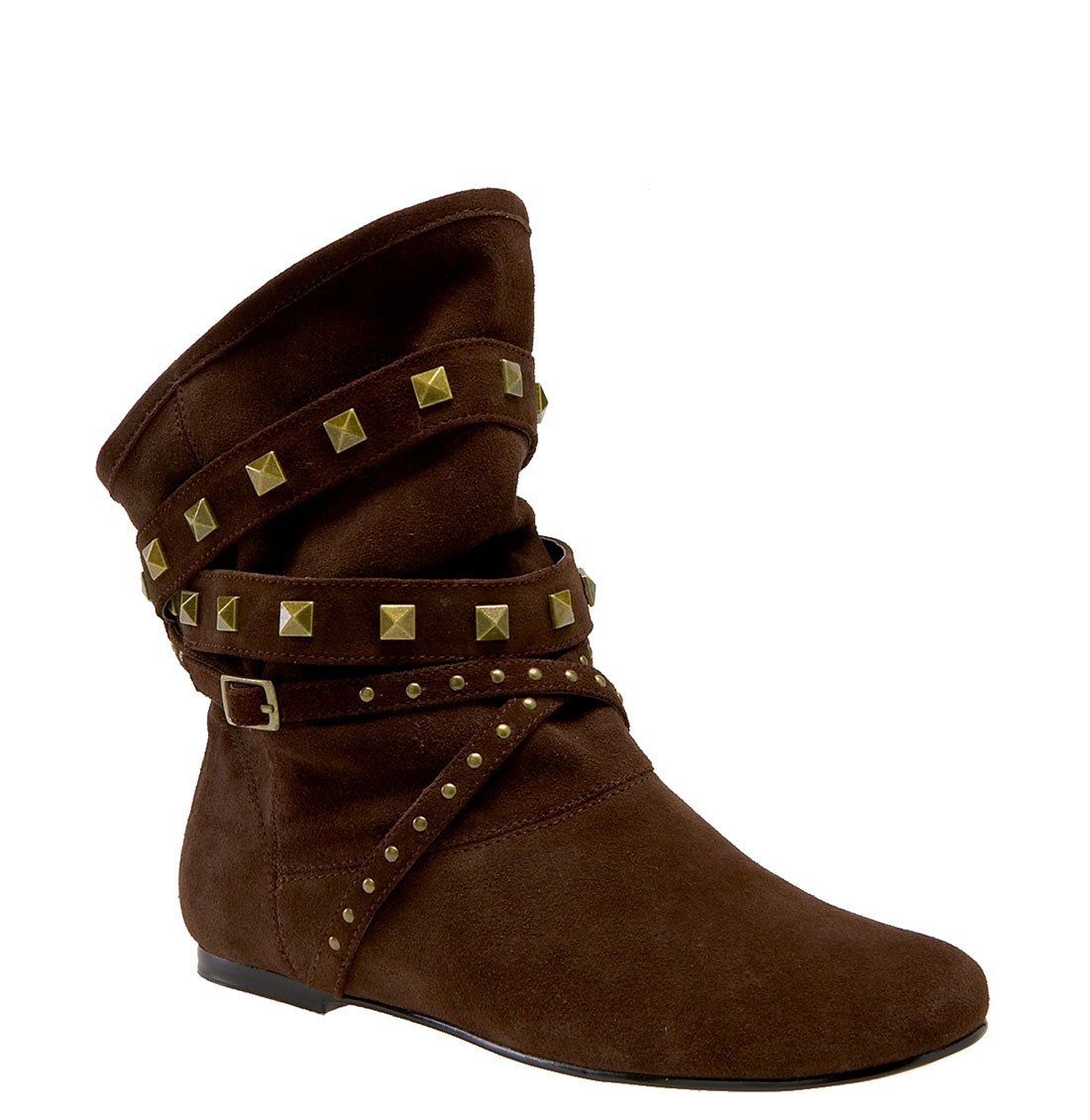 steve madden stutter boot in brown brown suede lyst