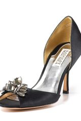 Badgley Mischka Kassabella Jeweled Dorsay Evening Pumps - Lyst