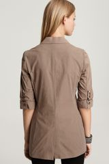 Elizabeth And James Triple Pocket James Blazer in Beige (Truffle) - Lyst