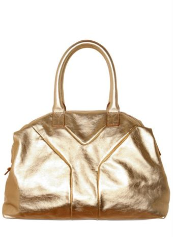 Yves Saint Laurent Metallic Easy Medium Top Handle - Lyst