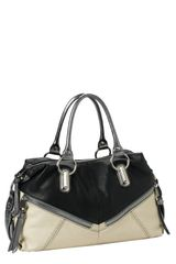 B. Makowsky Varick Convertible Leather Satchel - Lyst