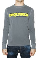 DSquared2 Jersey Horror Night Long Sleeve T-shirt - Lyst