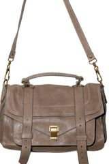 Proenza Schouler Ps1 Medium Lux Lamb Shoulder Bag - Lyst