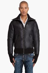 Viktor & Rolf Zip Up Bomber Jacket - Lyst