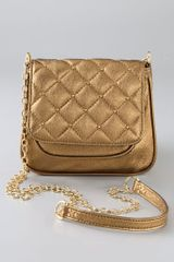 Gorjana Metallic Hudson Quilted Cross Body Bag - Lyst