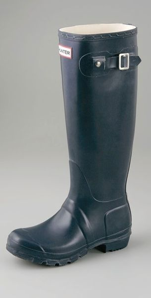 Hunter Original Wellington Rain Boots - Lyst