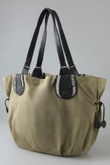 Khirma Eliazov Julianne Convertible Tote in Green (army) - Lyst