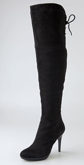 2cf029275b9 Lyst - Sam Edelman Vesey Thigh High Boot in Black
